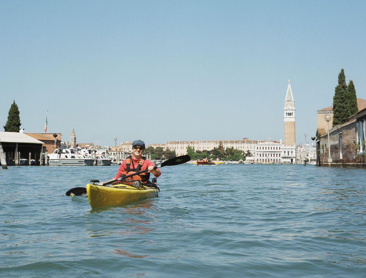 Paddeln in Venedig